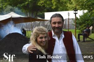 Lilian Prent und Tommy Krappweis beim Festival Mediaval