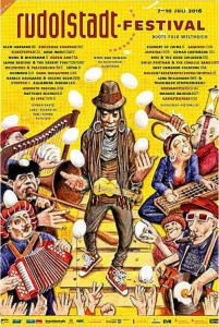 Rudolstadt Festival 2016 Plakat