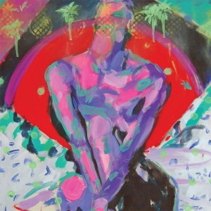 WILD PALMS - live together, eat each other - artwork